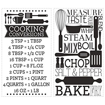 cooking conversion image b & w