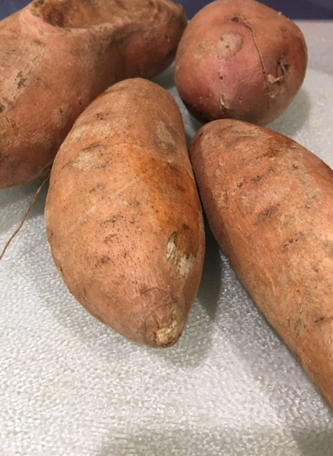 ugly sweet potatoes